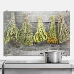 Dried Herbs   Kitchen Splashback