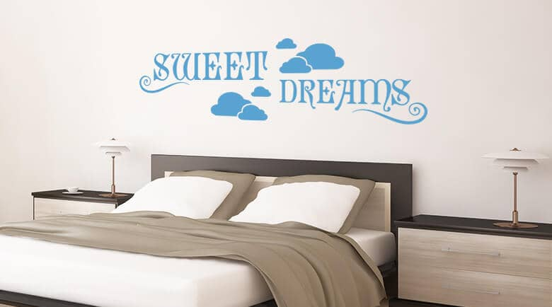 Superbe Wall Stickers For The Bedroom