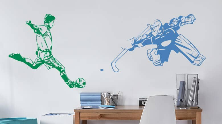 Wall Stickers Sports