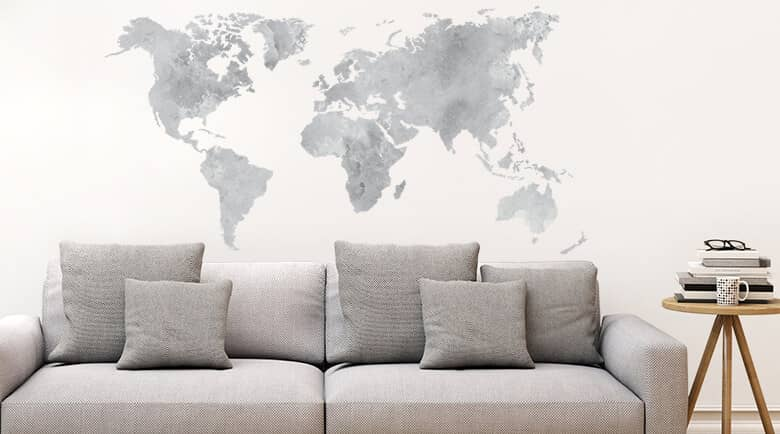 Cities countries looking for a wonderful skyline wallsticker or a world map wallsticker here you can find a wide selection of skylines landscapes cities and metropoles gumiabroncs Image collections