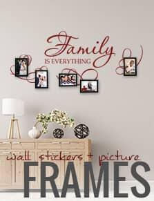 Wall Stickers and Photo Frames